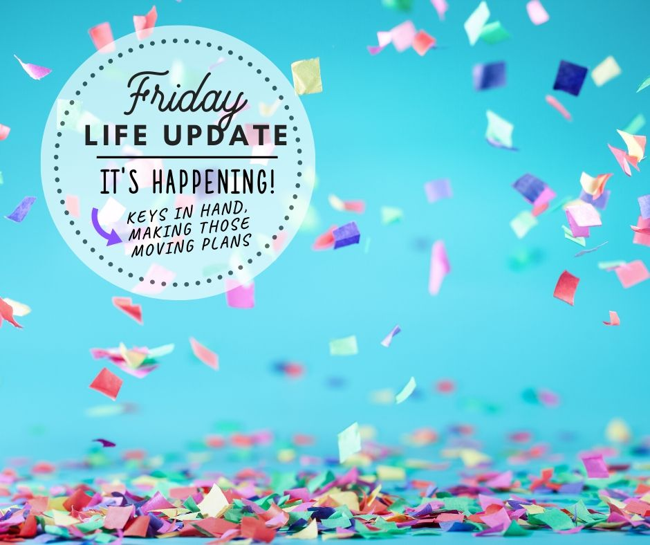 Happy Friday … It's Happening!