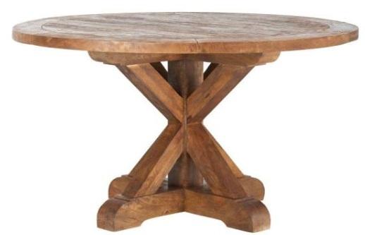 Cane Bark Round Table