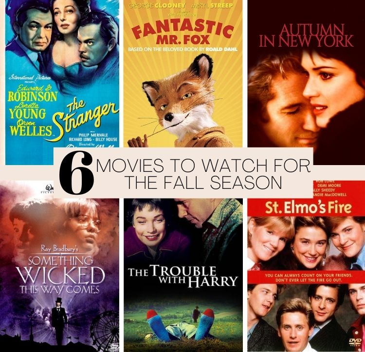 6 Movies to Watch in the Fall