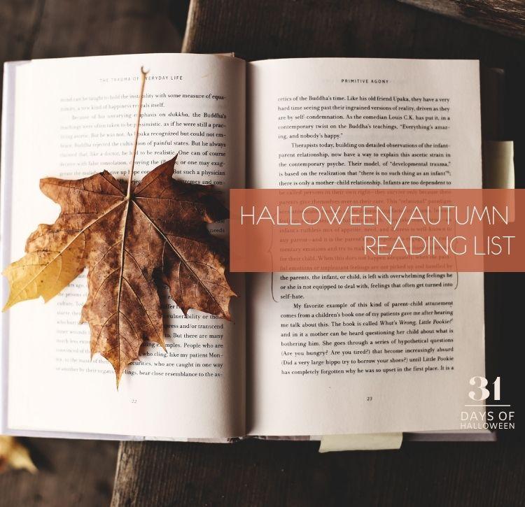 31 Days of Halloween: Day #1 … A Halloween/Autumn Reading List