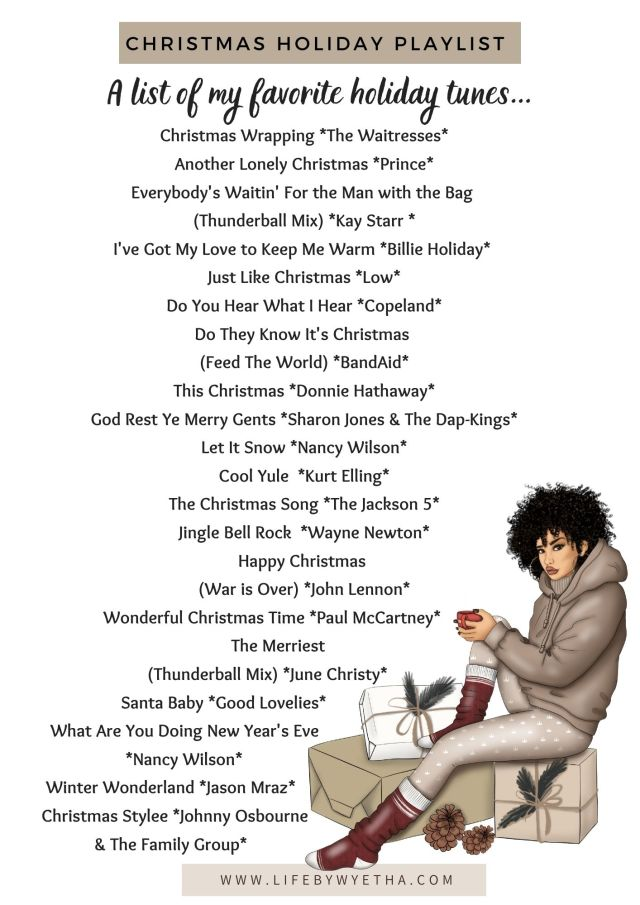 LBW_Christmas Holiday Playlist 2020