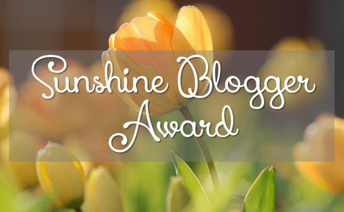Sunshine Blogger Award Nomination Thank You