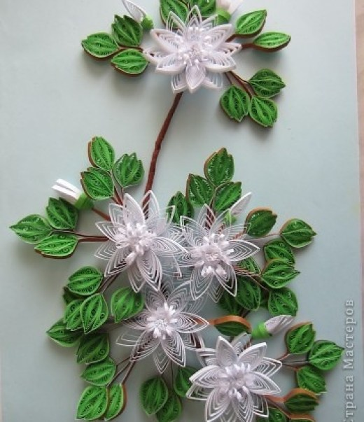 Amazing paper quilling patterns and designs life chilli floral quilling mightylinksfo