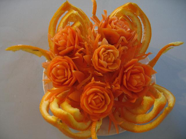 carrot-carving-flowers