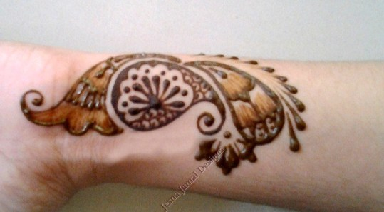 Mehndi Hands Designs : Step by easy arabic mehendi designs for beginners
