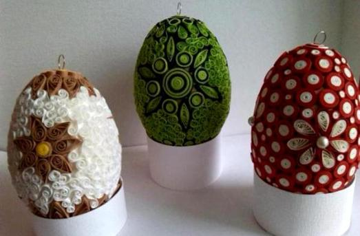 quilled-eggs-designs