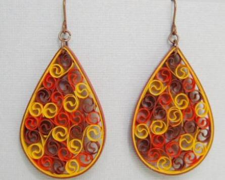 quilled-earrings