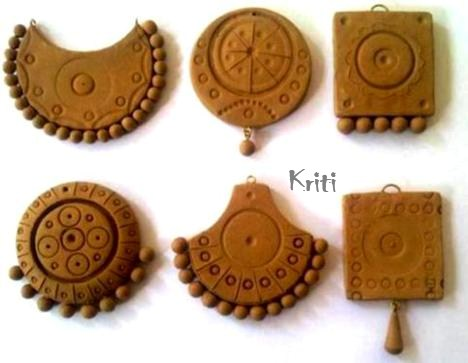 How To Bake Terracotta Clay Jewelry From Home Life Chilli
