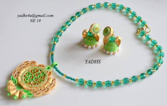 quilled-necklace-design