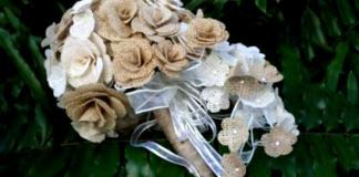 burlap-wedding-flowers