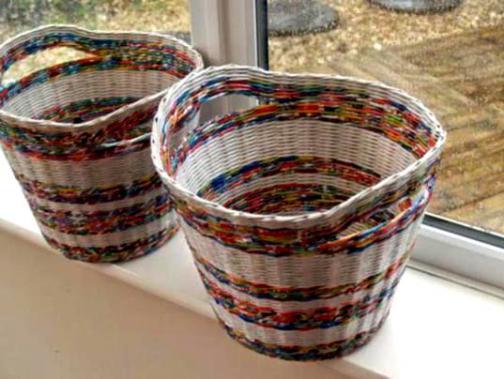basket-weaving