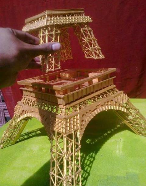 Eiffel-tower-handmade