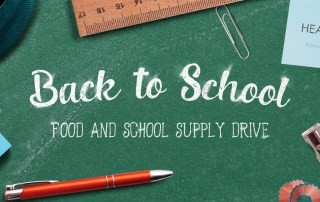 Back to school Food and School supply drive
