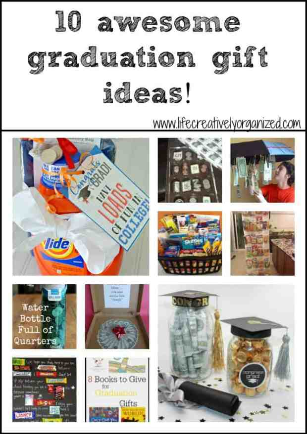 10 awesome graduation gift ideas life creatively organized as part of my series on creating an awesome graduation party here are 10 awesome negle Gallery