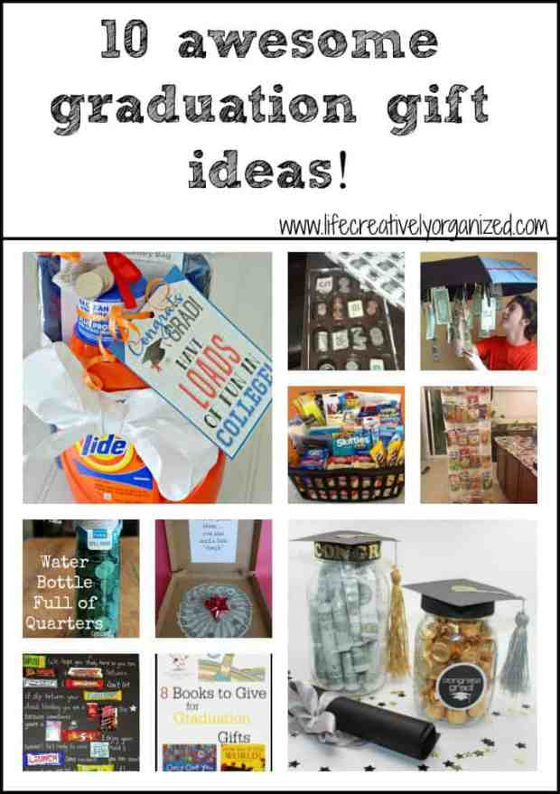 Gift wrapping 101 - Here are 10 awesomely easy, practical and inexpensive graduation gifts for your favorite grad!