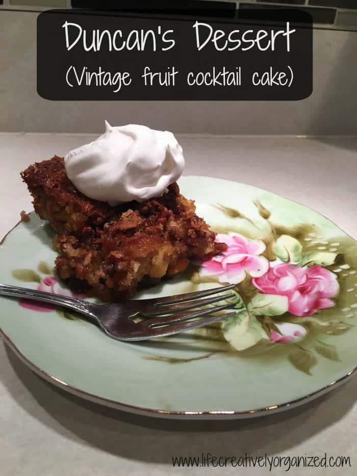 Quite Easy Moist Fruit Cake