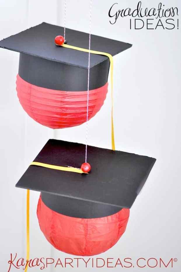 As part of my series on creating an awesome graduation party, here are some fabulous graduation party decorations to make your own graduate's party perfect.