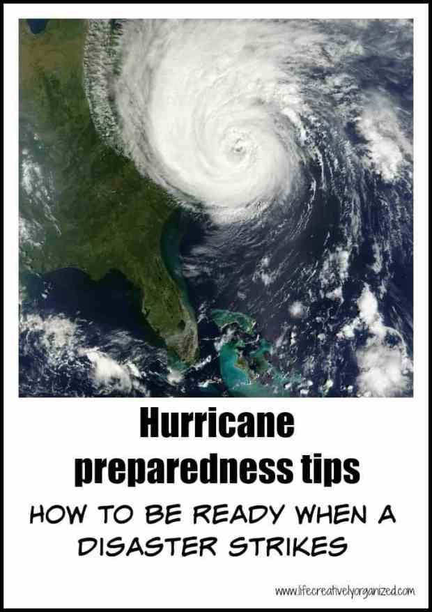 Hurricane preparedness tips - gather supplies now to be ready. Even if you don't live in a hurricane zone, these tips can help you prepare for an emergency.
