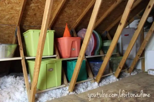 Wish you could use that extra space in your attic to store rarely used items, but aren't sure how to? Here are some great attic storage ideas to help.