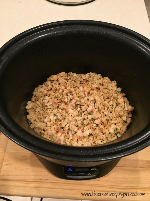 Easy crock pot turkey and dressing is a fast to prepare, delicious full meal your whole family will love, cooked right in the crock pot.