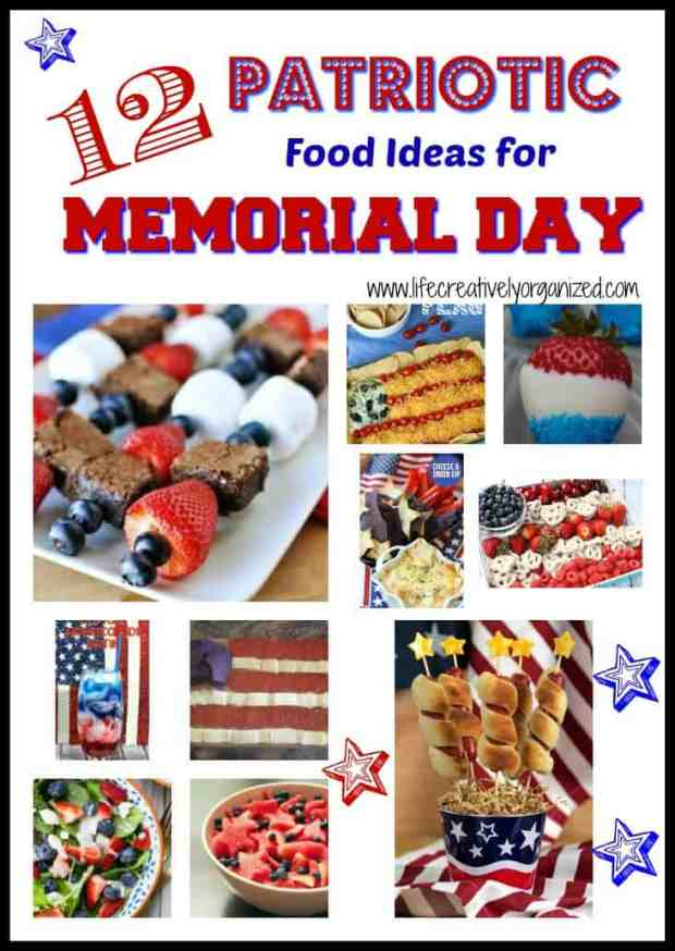 12 patriotic food ideas for memorial day life for Memorial day weekend ideas
