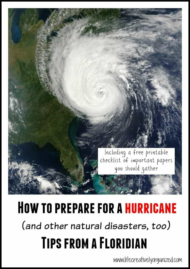 Be prepared for a hurricane - from a Floridian - LIFE ... Natural Disasters Hurricane