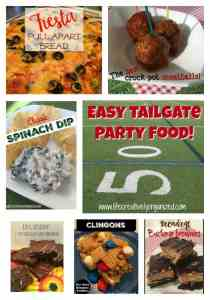 It is tailgate season! A fun time to root for your favorite team, getting together with friends and family, and, of course, eating yummy tailgate food!