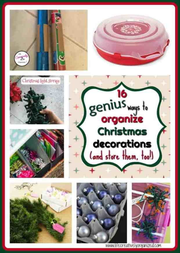 are all of your christmas lights in one giant tangle bows squashed garland in - How To Organize Christmas Decorations