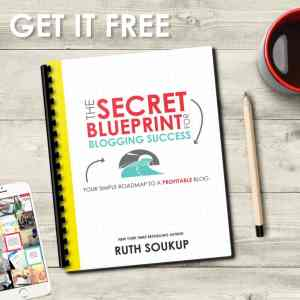 The Secret Blueprint for Blogging SuccessEver wish you had a road map to blogging success? This Secret Blueprint shows you the exact steps you need to take to grow your blog fast and monetize successfully. It's a game changer, and right now, for a limited time, you can get it absolutely free!