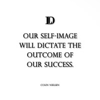 our self image will