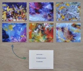 Color Paintings Meditation 6-Card Set