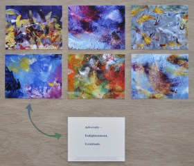 Color Paintings Meditation 6-Card Set
