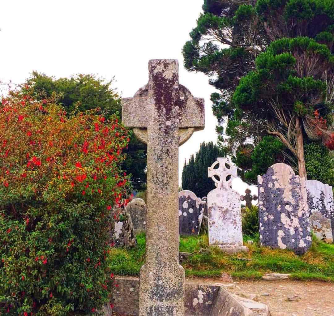 Glendalough, St Kevin's Cross