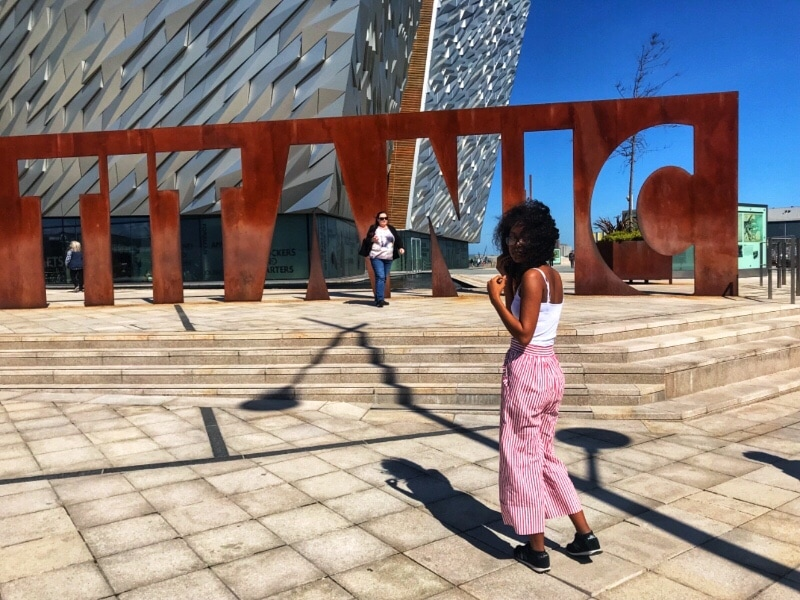 Visiting the Titanic Museum in Belfast