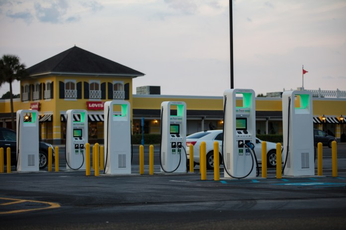 Use electric charging stations