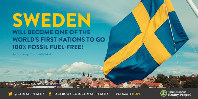 Svezia 100% rinnovabili 2040