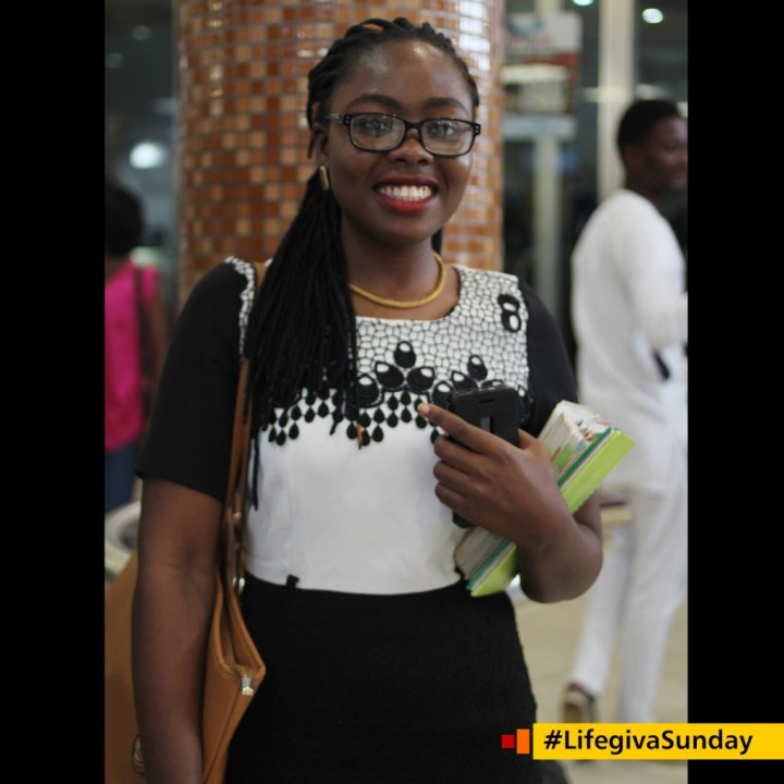 Temi Olusola. @_tidola ..... as a believer in our lord Jesus Christ I have the power to heal the sick and perform miracles if only I believe it. #LifegivaSunday