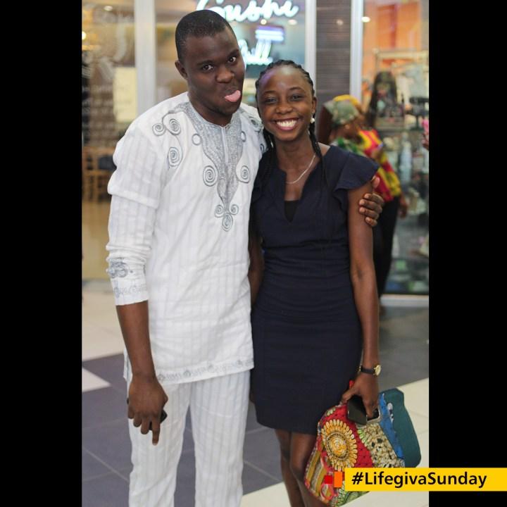 Gideon Oghenetega and Anuoluwa Karounwi #LifegivaSunday