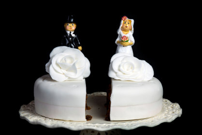canceled wedding cake