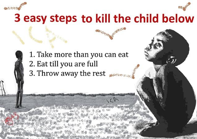 Hungry Little Boy | #Food4AllNigeria
