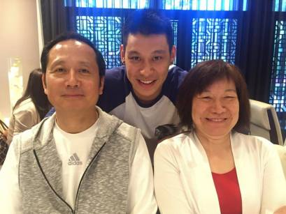 Jeremy lin and parent