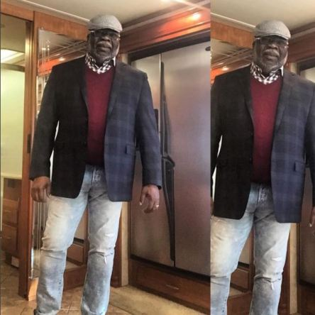 bishop t d jakes in ripped jeans