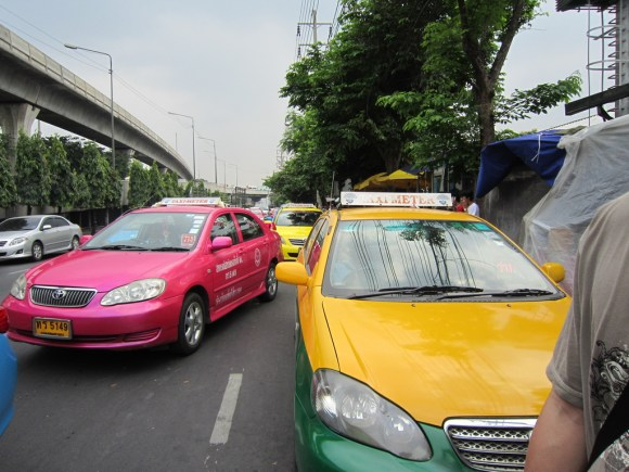 Colorful cabs
