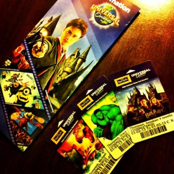 Tickets to Universal Studio
