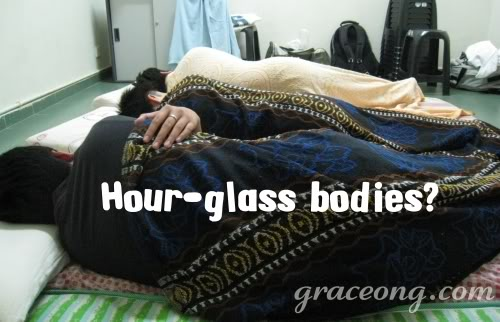 Hour-glass bodies