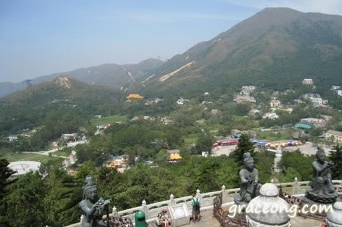 View of Lantau