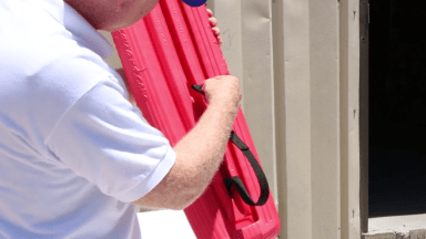 How to Attach the Strap to the LIFE Rescue Tube