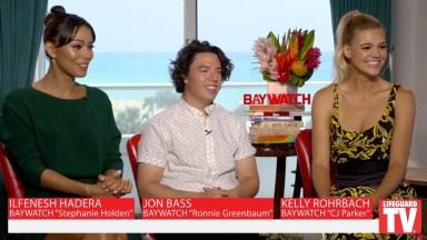 Ilfenesh Hadera, Jon Bass, and Kelly Rohrbach