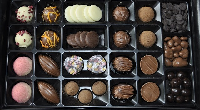 Cocoa Boutique chocolates, white, dark, milk, strawberry, handmade, artisan,