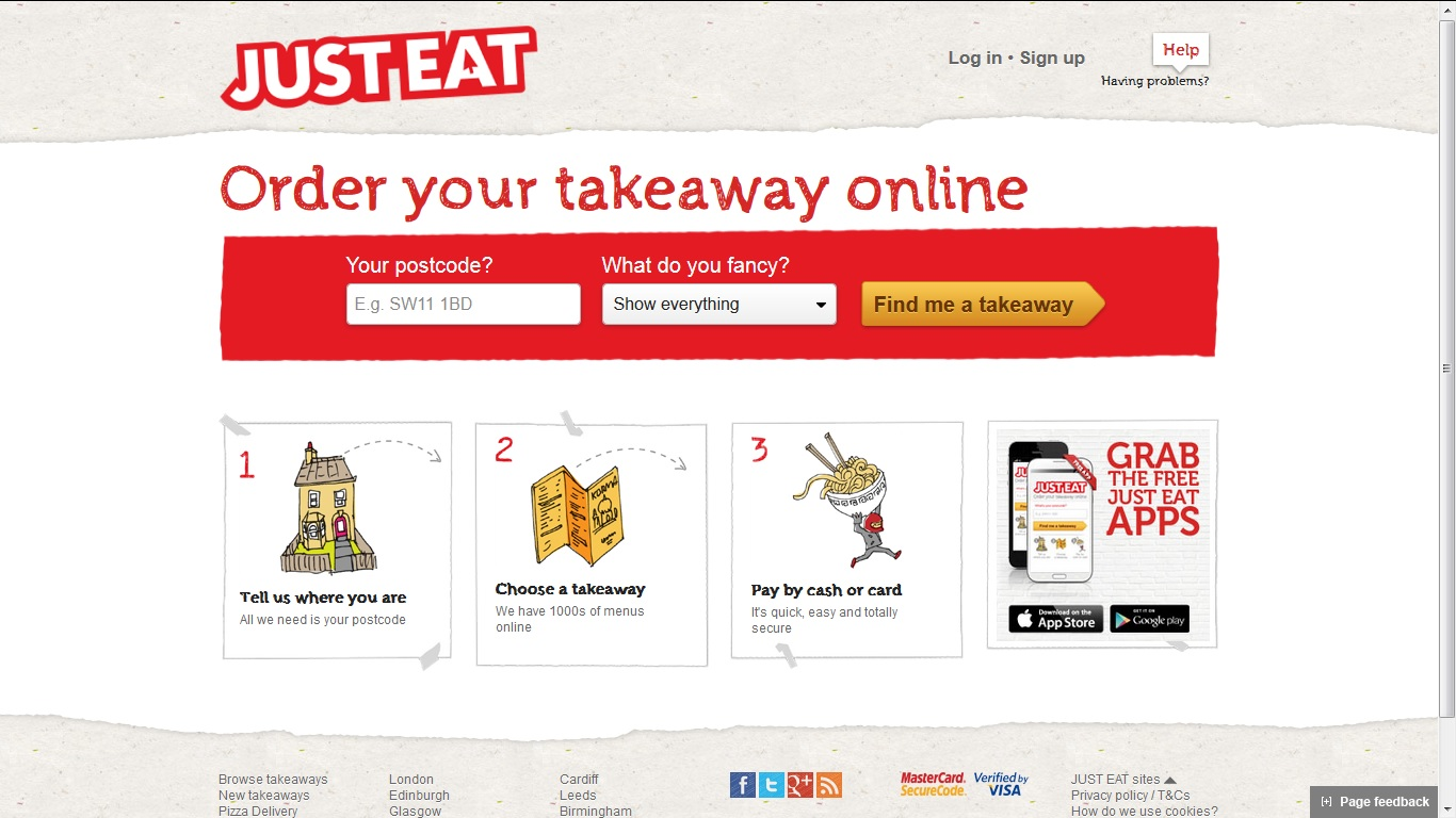 Just Eat Review Life In A Break Down